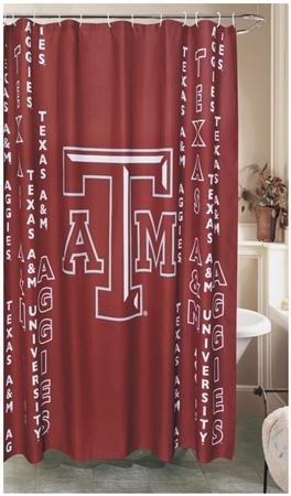 Texas A&M Shower Curtain ()