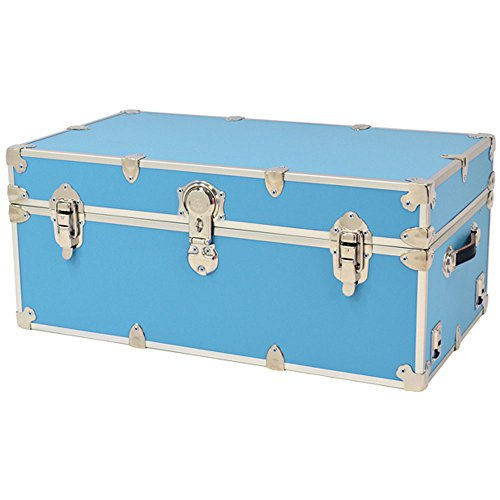 Rhino Sticker College & Camp Trunk with Wheels & Tray - 32