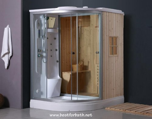 Deluxe Shower / Dry Sauna Combo System + Steam Cabin. B001: Amazon.ca: Home  U0026 Kitchen