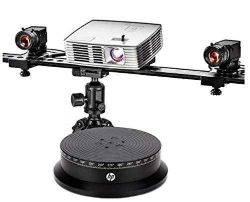 (HP 3D Structured Light Scanner Pro S3 with Dual Cameras Including Free Turntable)