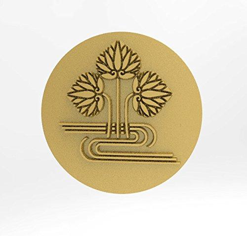 【楽天ランキング1位】 水に立ち葵 ピンバッチ 18Kゴールド 家紋 ピンバッチ 18Kゴールド 家紋 B01N27ZOM0, アイショップキラリ:fa874923 --- pizzaovens4u.com