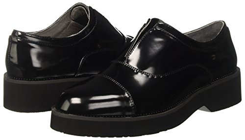 010 Derby Zapatos Nero para CAFèNOIR Negro Mujer Lec924010 Fvqwg7