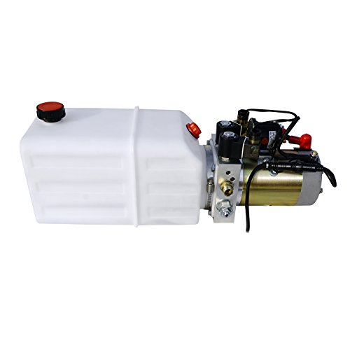 High Quality Double Acting Hydraulic Pump12V Dump Trailer- 6 Quart 3200 PSI Max. - Motor Control Unit