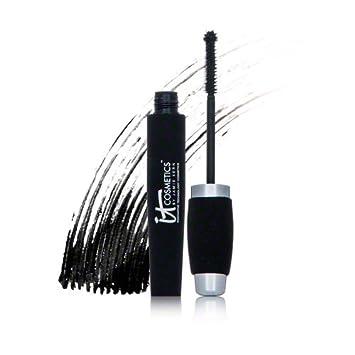 b3bd851291a Amazon.com : It Cosmetics Hello Lashes 5 in 1 Volumizing Mascara 0.33 FL OZ  : Beauty