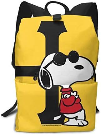 サックリュックスヌーピー (1) バックパック 防水人気 バックパック ビジネス リュックメンズ レディース 旅行バッグ 多機能 人気 りプレゼント 子供 通用 通学 かばんバ