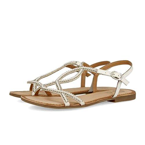 Gioseppo 45340 Sandal Women Blanco N1E7EnLh