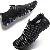 SIMARI Unisex Water Sports Shoes Barefoot Slip-on Indoor Outdoor Sports Activities Summer 202 Green 13.5W/12.5M