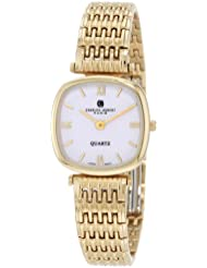 Charles-Hubert, Paris Womens 6796 Premium Collection Gold-Plated Stainless Steel Watch