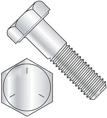 Newport Fasteners 9//16 inch x 1 inch Hex Cap Screw Grade 8 Plain Steel Quantity: 25 pcs 9//16-18 x 1 Hex Bolt//Fine Thread//Fully Threaded