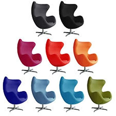Poltrona Uovo Jacobsen.Poltrona Egg Chair Arne Jacobsen Replica Lana Cashmere