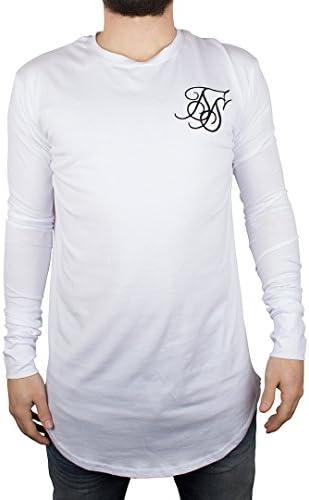 Sik Silk Hombre Capa Base de la Camiseta, Blanco, X-Small: Amazon.es: Ropa y accesorios