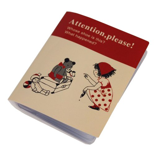 Shinzi Katoh Business / Travel / Calling Cards Holder - Attention Design