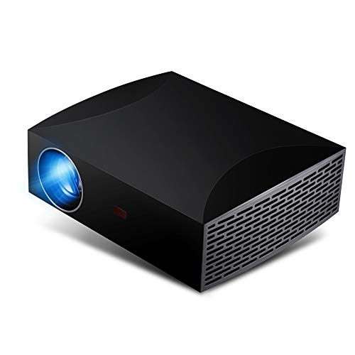 Bewinner Full HD Portable Projector, 1920x1080 Pixels 5500Lm LED HDMI Intelligent Projector, USB/Audio-Out/SPIF/HDMI/IR Receiver Interface, Mini Home Theater Projector(US) from Bewinner