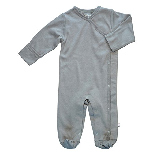 Babysoy Organic Long Sleeve Solid Footie/Coverall