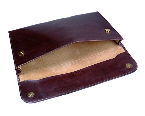 SAGEBROWN Brown Bridle Envelope Folder by Sage Brown (Image #2)