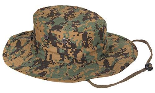Rothco Adjustable Boonie Hat, Woodland Digital Camo
