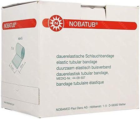 Nobamed - Vendaje tubular elástico permanente (12 x 10 m)