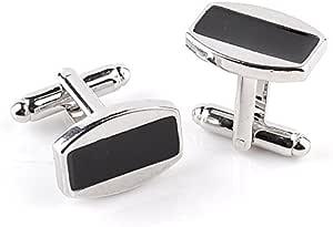 Rectangle Stainless Steel Mens Cufflinks- XK38