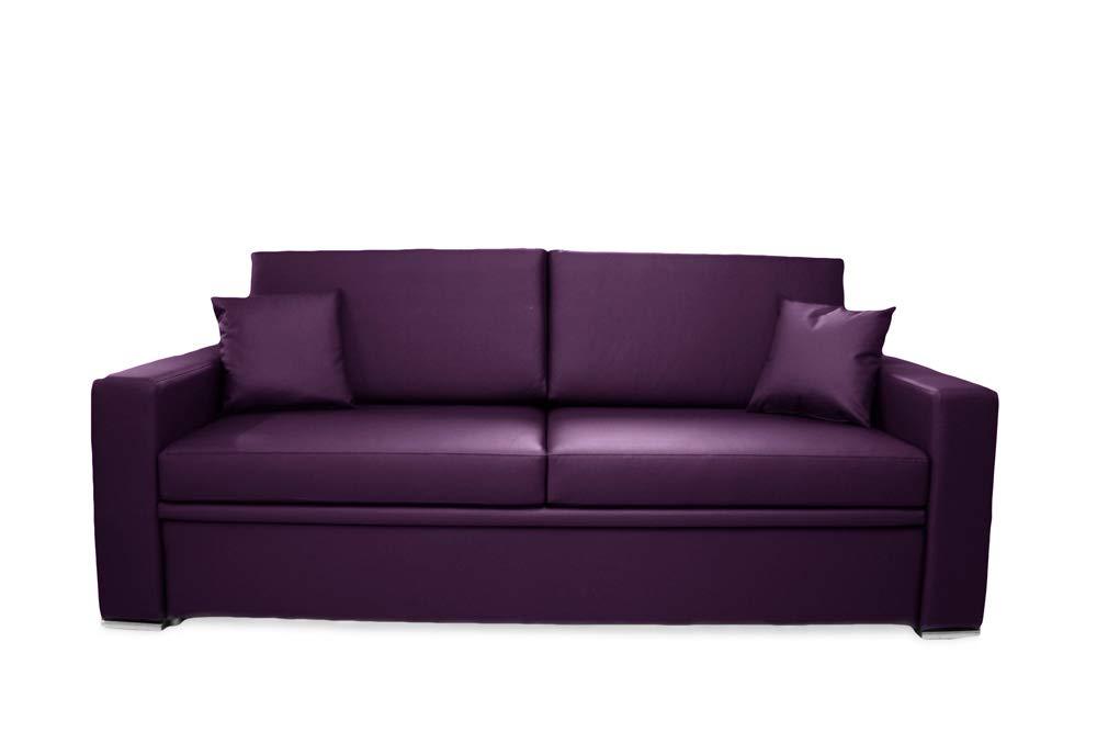Ponti Divani Sofá cama con cama extraíble, colchón incluido ...