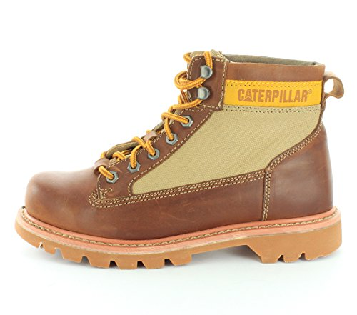 Caterpillar Mens Ralston Canvas Lace Up Work Boot Bagpipe