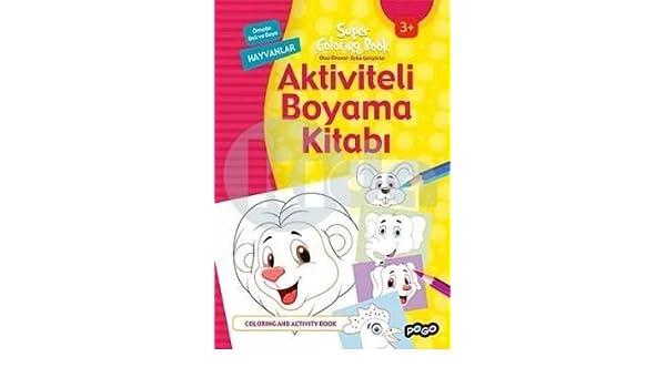 Aktiviteli Boyama Kitabi Hayvanlar Collective 9786052355312