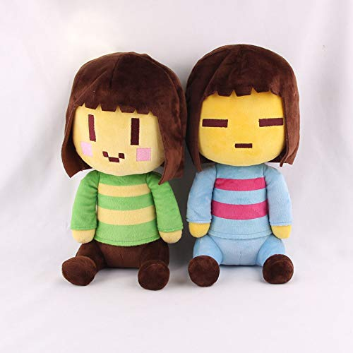 "FidgetGear 8"" Undertale Character Frisk and Chara Plush Doll Soft Stuffed Toy Kids Gift"