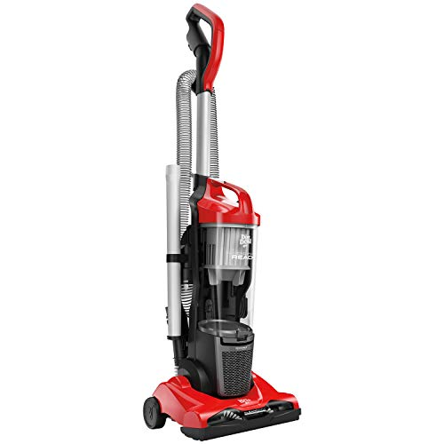 - Dirt Devil Endura Reach Upright Bagless Vacuum Cleaner for Carpet and Hard Floor, Lightweight, Corded, UD20124, Red