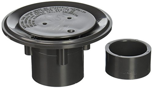 loor Inlet Fitting, 2 Inch Slip with 1 1/2 inch Slip Bushing, Grey (Inlet Bushing)