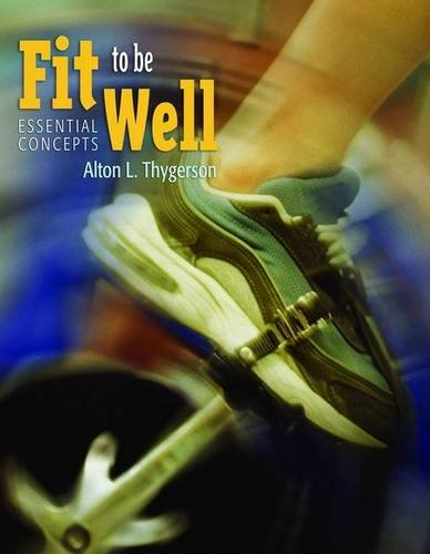 Bu Fit To Be Well: Lab Manual pdf epub