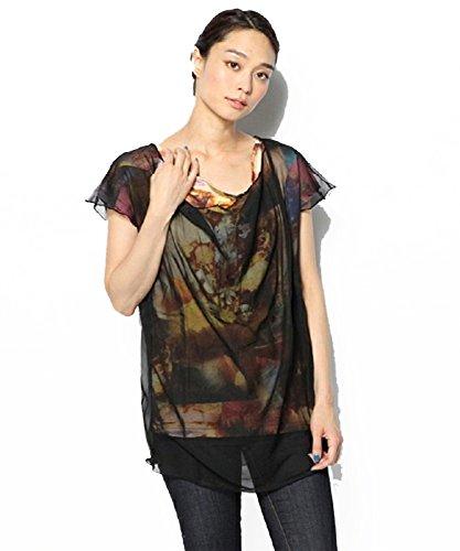 - Diesel Women's T-MOLA T-Shirt Short Sleeveless Black (Small, Black)