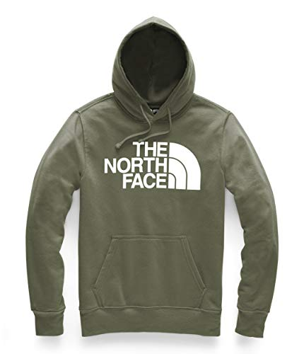 - The North Face Men's Half Dome Pullover Hoodie, Burnt Olive Green/TNF White - Large
