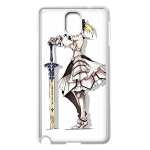 HD exquisite image for Samsung Galaxy Note 3 Cell Phone Case White saber lily fate stay night Popular Anime image WUP0724529