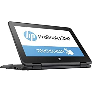 "2018 HP ProBook x360 11-G1 EE 11.6"" HD Touchscreen Convertible Laptop Computer, Intel Dual-Core N3350 up to 2.4GHz, 4GB DDR3 RAM, 128GB SSD, HDMI, WiFi 802.11ac, Bluetooth 4.2, Windows 10 Professional"