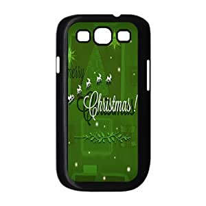 Custom Christmas Back Cover Case for SamSung Galaxy S3 I9300 JNS3-329