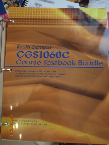 CGS1060C Course Textbook Bundle