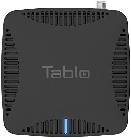 Tablo Dual LITE [TDNS2B-01-CN] Over-The-Air [OTA] Digital Video Recorder [DVR] for Cord Cutters – with WiFi, Live TV Streaming, & Automatic Commercial Skip, Black