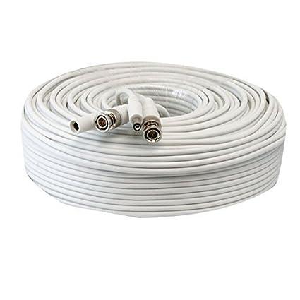 Lknewtrend RG59 Siamese Combo Cable coaxial de alimentación de ...