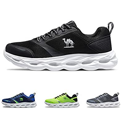 CAMEL CROWN Breathable Trail Running Shoes Lightweight Tennis Shoes Comfortable Sneakers Fashion Athletic Shoes for Men