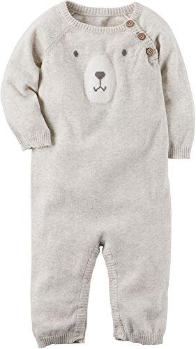 Carter's Baby Boys' Bear Sweater Jumpsuit 3 Months