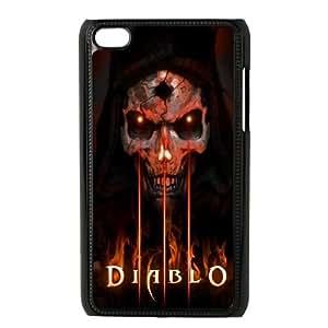 iPod Touch 4 Phone Case Black Diablo ES7TY7904121
