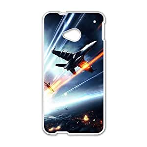 Battlefield 3 Jetfighter HTC One M7 Cell Phone Case White phone component RT_213750