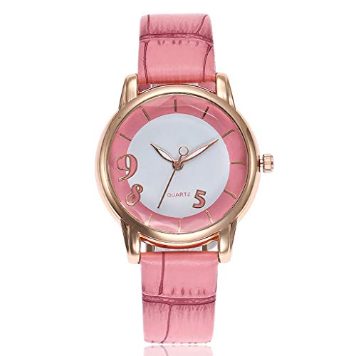 - Women Belt Watch Fashion Digital Dial Personality Fashion Leisure Watch Watches for Women Simple Under 5 ❤ Best Gifts for Lovers