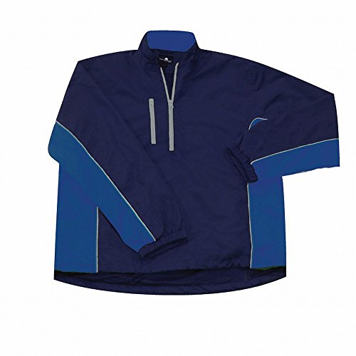 The Weather Company Mens Microfiber Rain Shirt Navy/Royal S