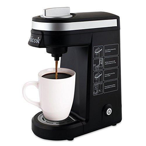 aicok único servir K-Cup cafetera eléctrica: Amazon.es: Hogar