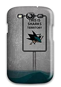 Galaxy Cover Case Creative Sharks Chalkboard Pxl Protective Case Compatibel With Galaxy S3