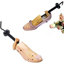37-39 EU Size M High Quality 1x 2-Way Professional Wood Wooden Shoe Tree Stretcher for Women Boots