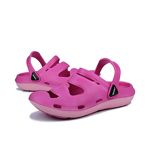 Beach Quick SUADEX Shoes Garden Bath Women's Summer Rosered Lightweight Sandals Dry Clog Breathable fF6vCw