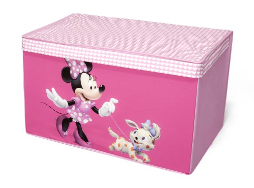 Minnie Mouse faltbare Spielzeugtruhe (Rosa)