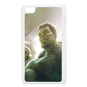iPod Touch 4 Case White avengers age of ultron hulk hero art Iheiv