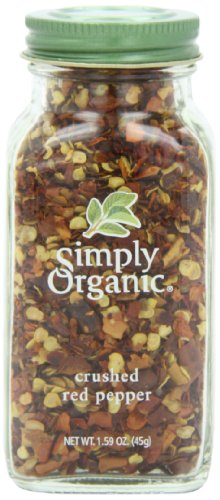 Simply Organic Red Pepper Crushed Certified Organic, 1.59-Ounce Container